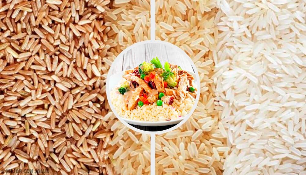¿Cuál es el tipo de arroz que menos engorda?