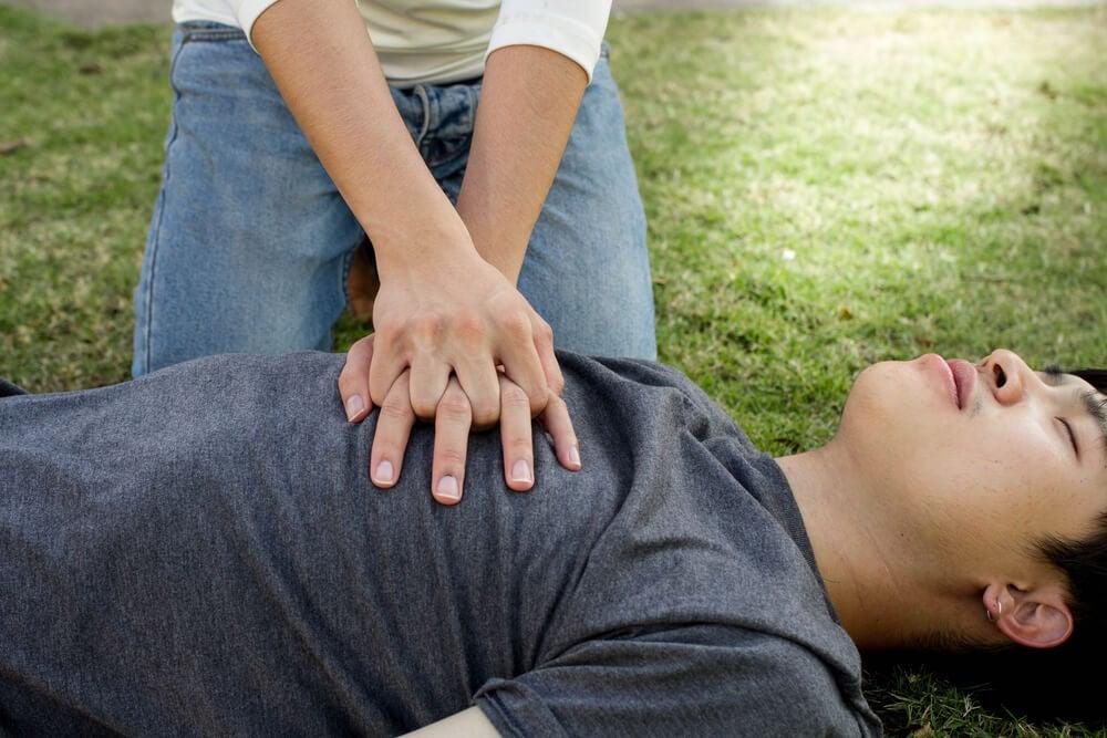 Cuidado con el masaje cardiopulmonar