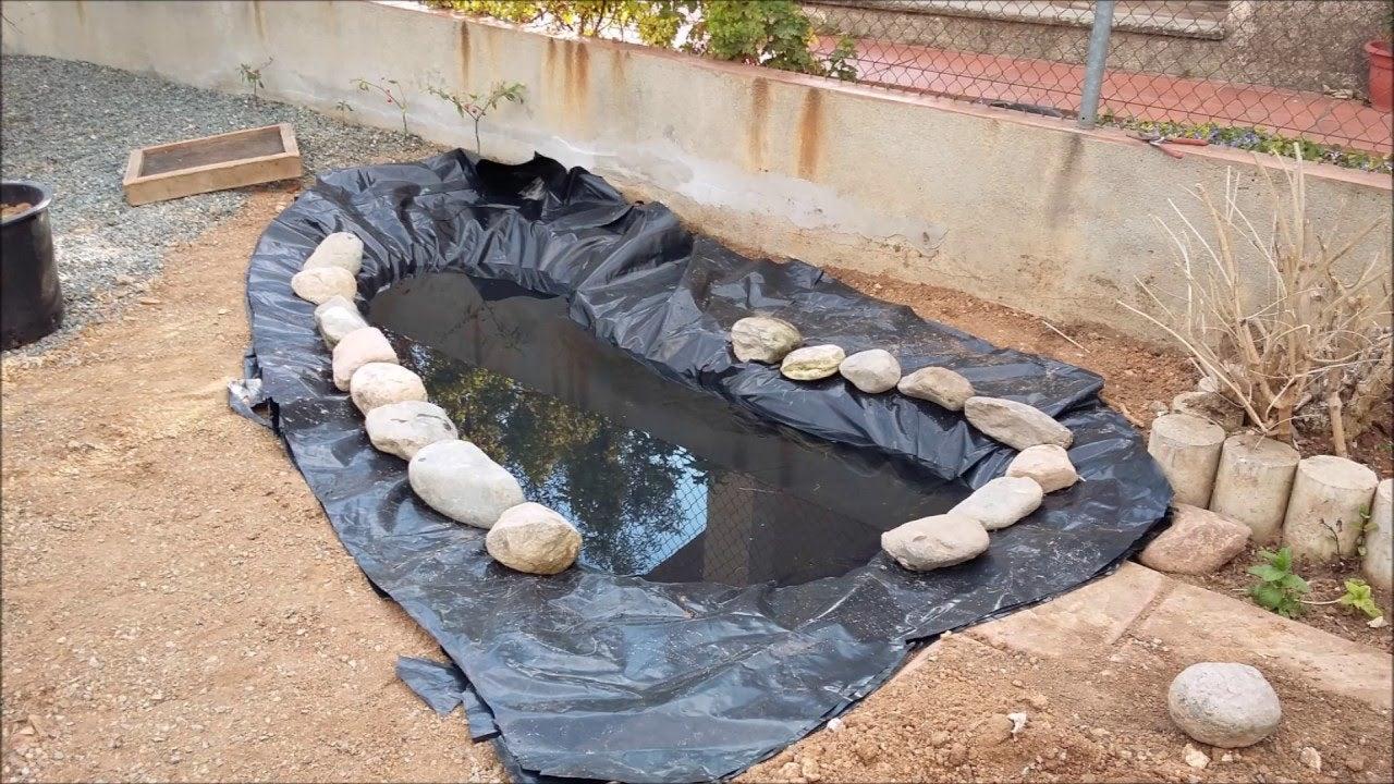 Atrevete y despierta 3 ideas para hacer un estanque en casa for Estanque jardin