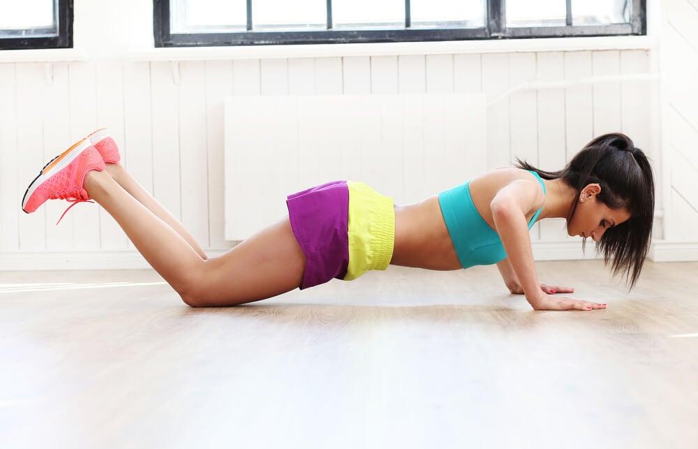 Flexiones de rodillas