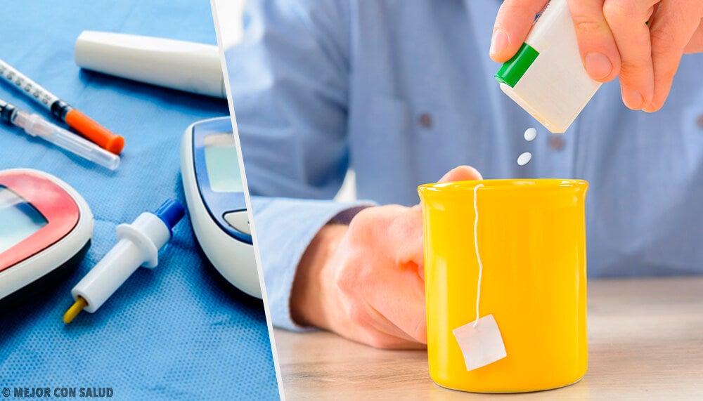 ¿Hay relación entre los edulcorantes y el riesgo de padecer diabetes?