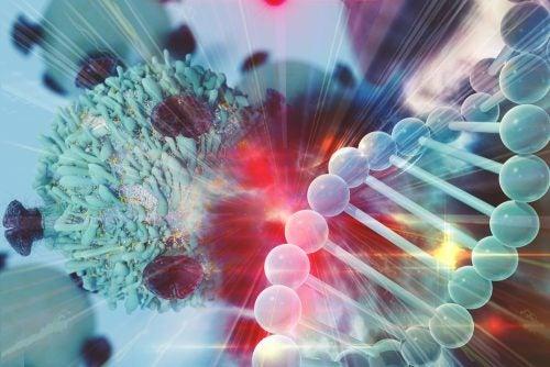 Recreación de cadena de ADN