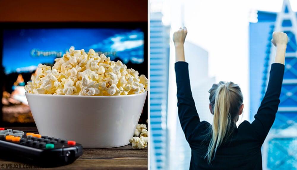 Películas relacionadas con el éxito profesional o personal
