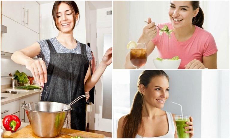 Los 6 mejores trucos para disfrutar cenas ligeras y saludables