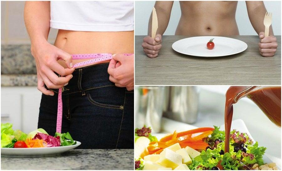 Los 7 errores que debes evitar al adoptar una dieta para perder peso
