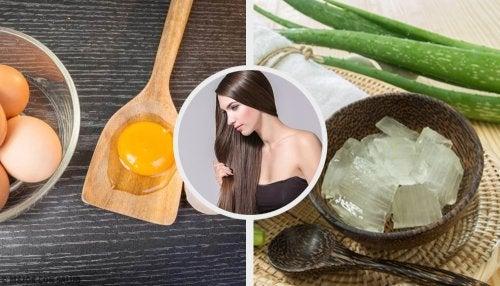 Mascarillas para tener un cabello suave de la noche a la mañana