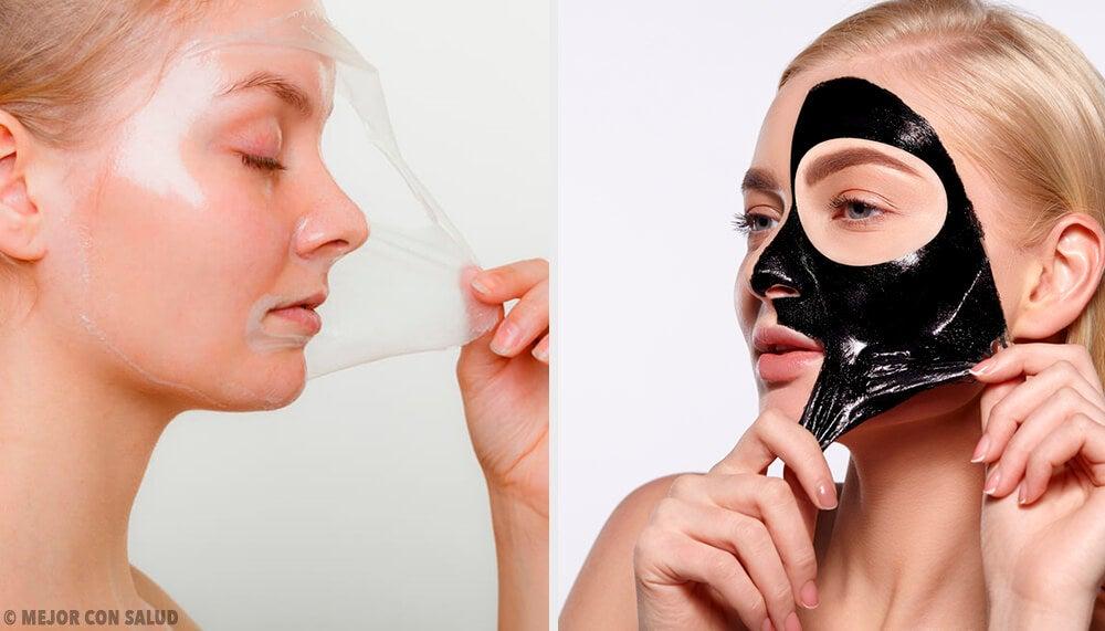 Mascarillas peel-off con gelatina para revitalizar la piel