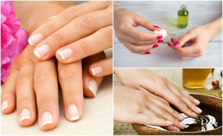 Tratamientos caseros para cuidar las uñas