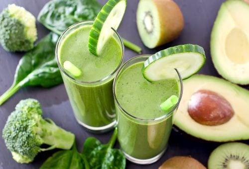 Plan detox de una semana con batidos verdes