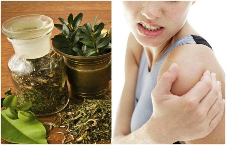Prepara un alcohol de hierbas para calmar los dolores articulares