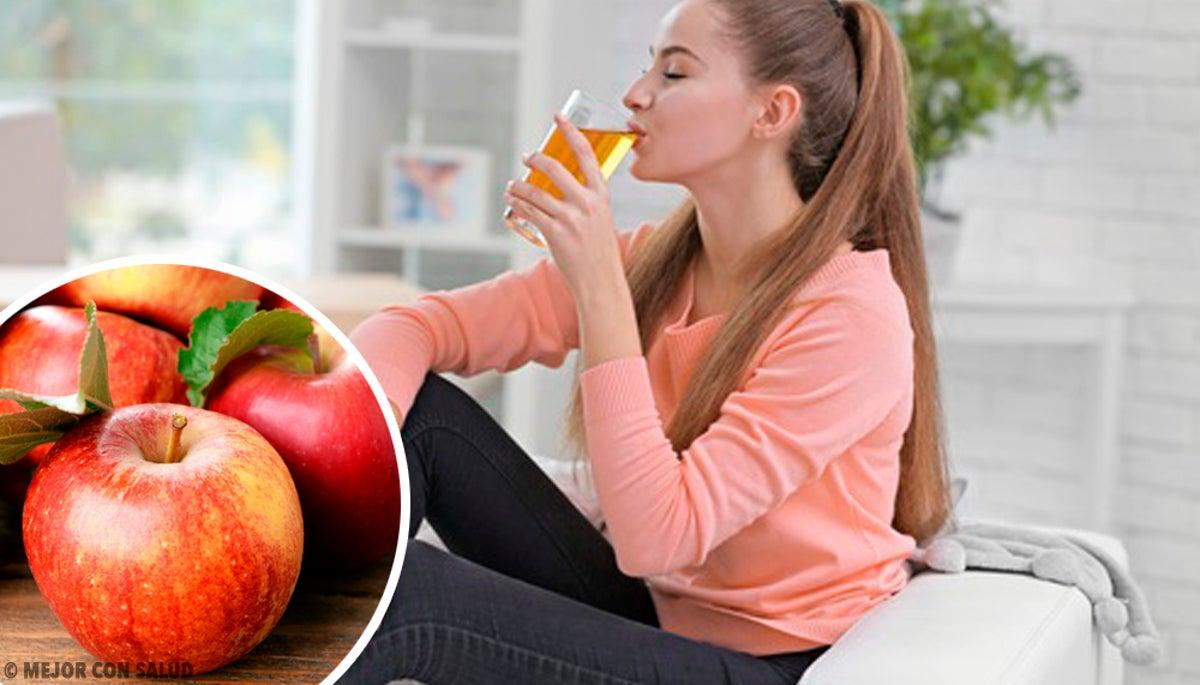 ¿qué beneficios tiene la manzana roja en ayunas