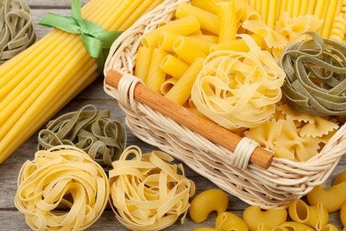¿Qué pasta es la que menos calorías nos aporta?