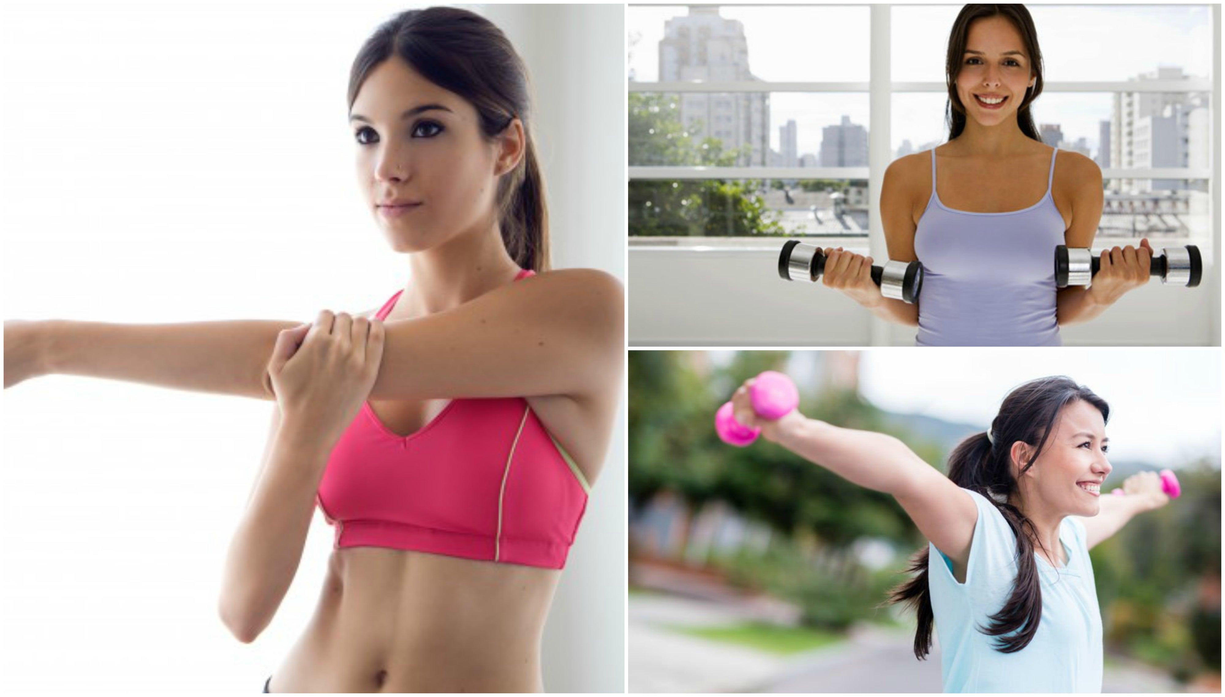 Reafirma el busto de forma natural con 5 sencillos ejercicios