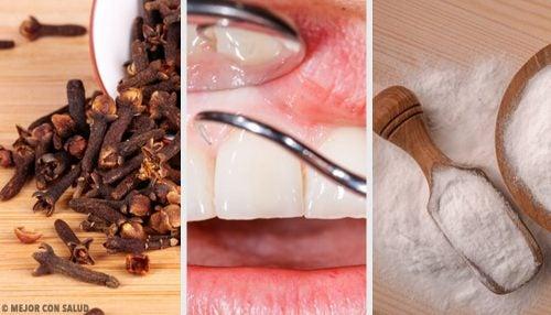 Remedios naturales para las encías inflamadas
