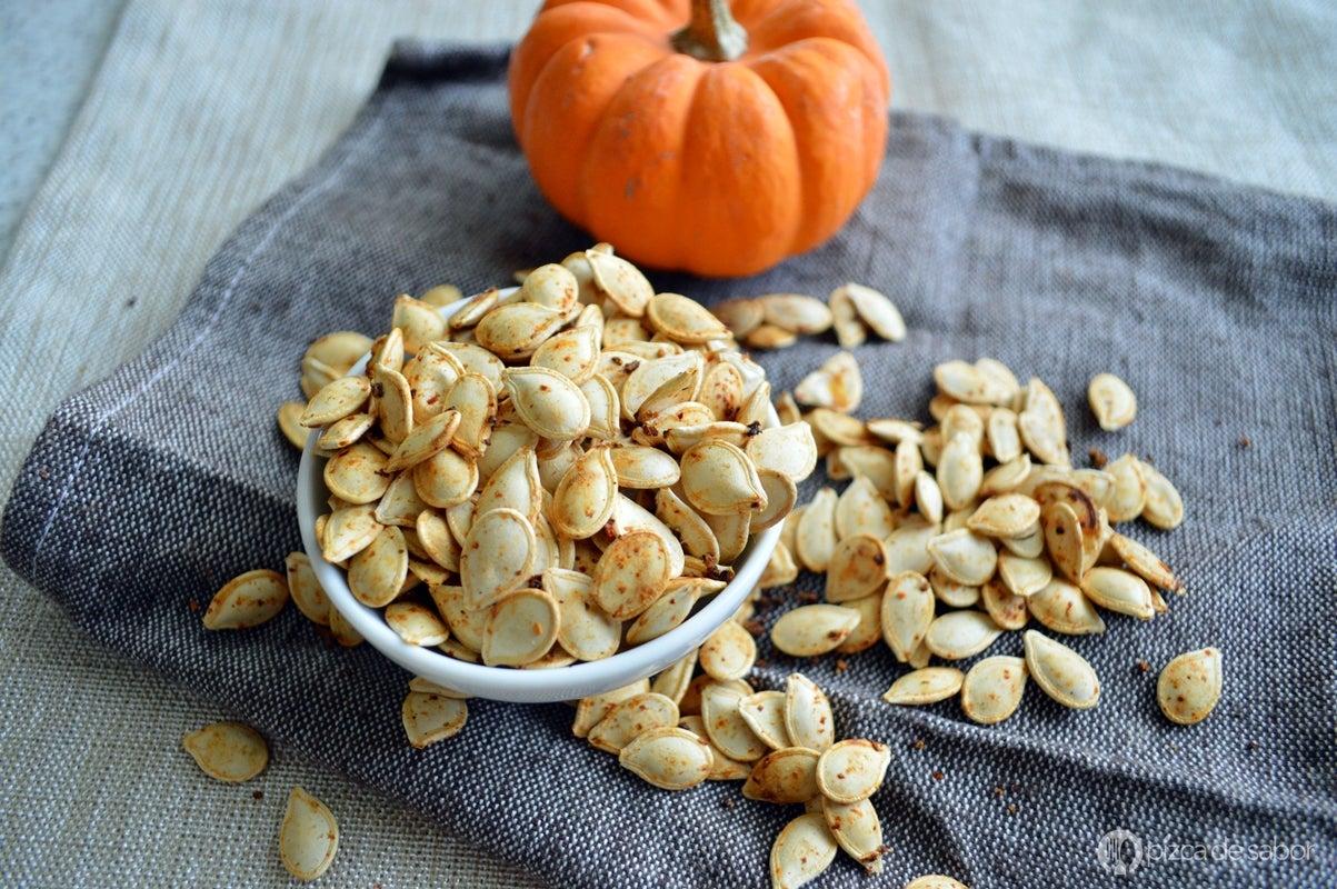 Smoothies para aumentar tu consumo de proteína: batido de semillas de calabaza