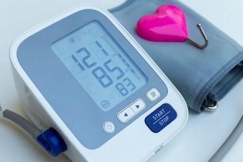 Valores de la tensión arterial