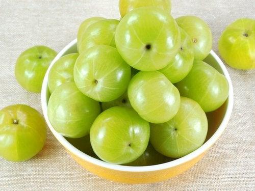 Fruto de amla