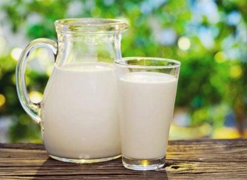 aclarar leche