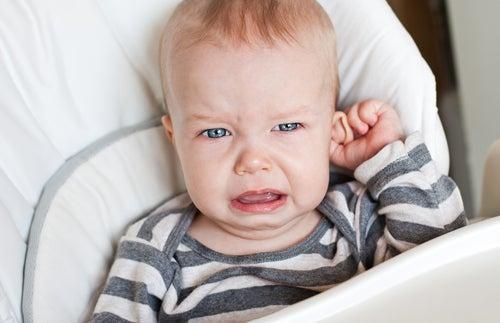 dolor de oídos en bebés y niños