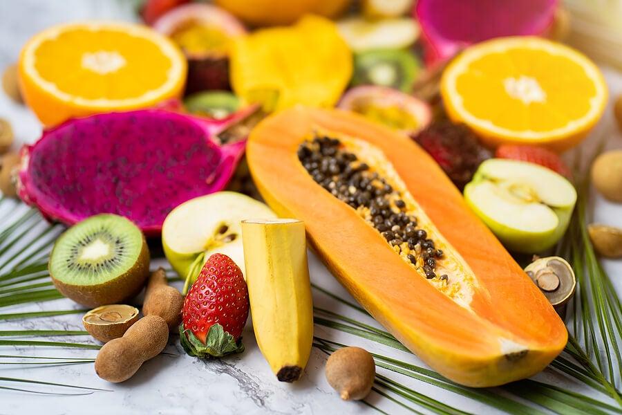 Frutas tropicales para combatir la retención de líquidos.