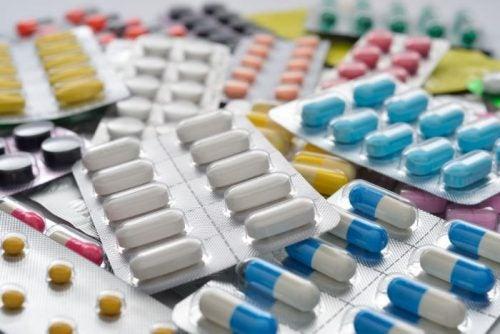 Medicamentos en blísters