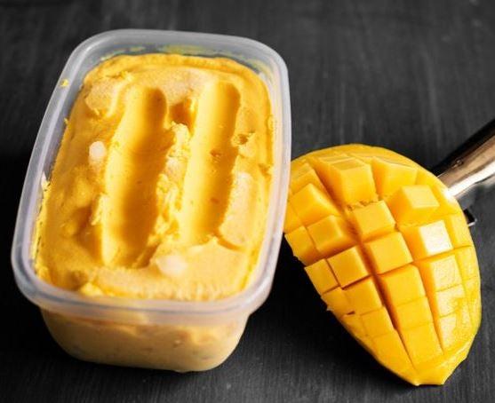 Mascarilla de mantequilla y mango