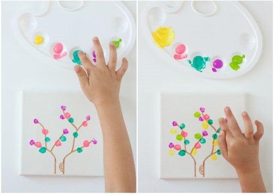 Manualidades para niños: cuadros