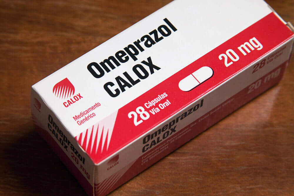 Medicamento omeprazol.