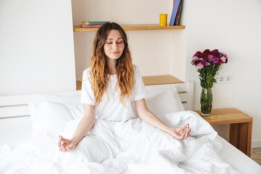 Ser una persona más tranquila se logra a través de buenos hábitos.