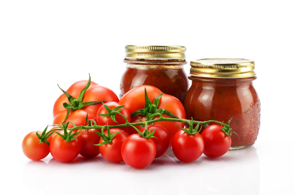 Tomates-embotellados