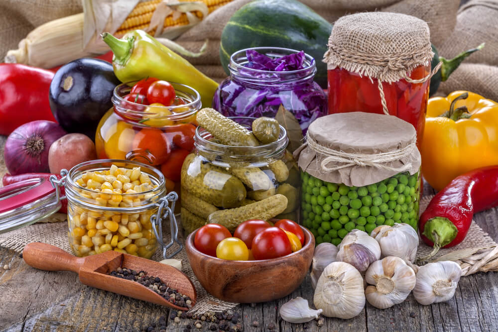 Conservas-verduras