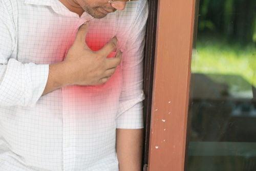 Un síntoma de miocardios