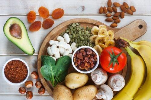 Estos son algunos alimentos que contienen potasio