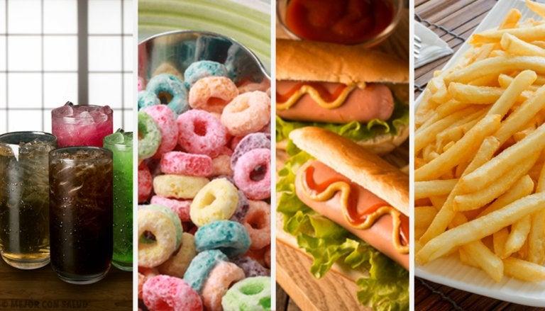 14 alimentos que debes evitar a toda costa