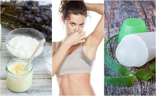 5 desodorantes naturales para eliminar el mal olor de las axilas