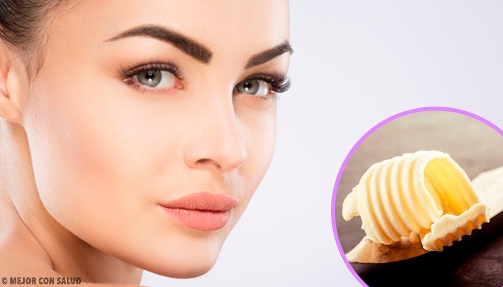 5 mascarillas faciales con mantequilla para embellecer tu rostro