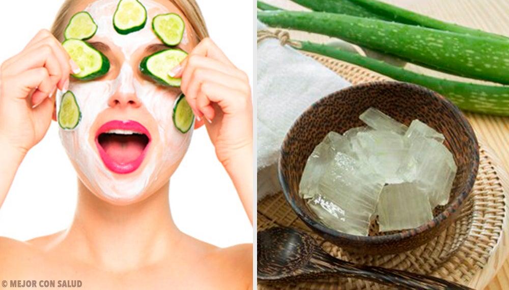 5 mascarillas faciales para combatir los problemas de verano