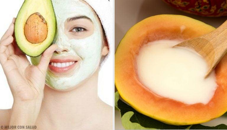 5 mascarillas frutales combaten la piel seca y agrietada