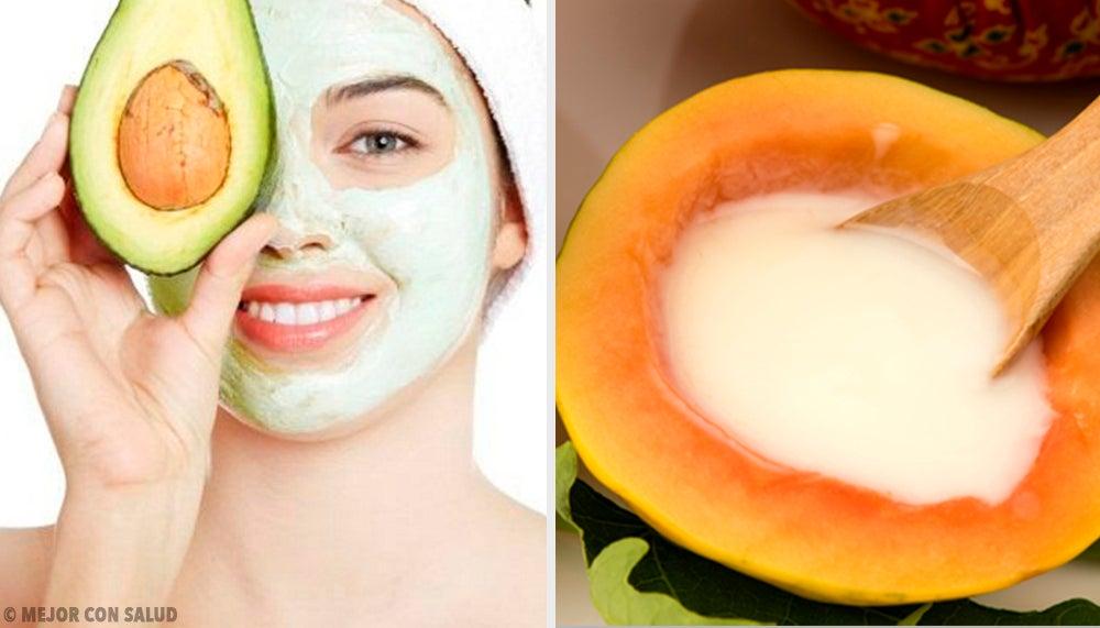 5 mascarillas frutales para combatir la piel seca y agrietada