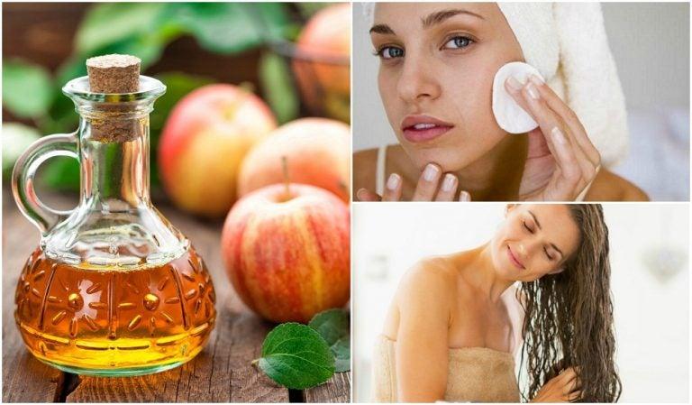 5 secretos de belleza con vinagre de manzana que debes conocer