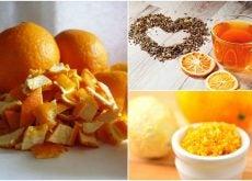 5 usos alternativos que le puedes dar a las cáscaras de naranja