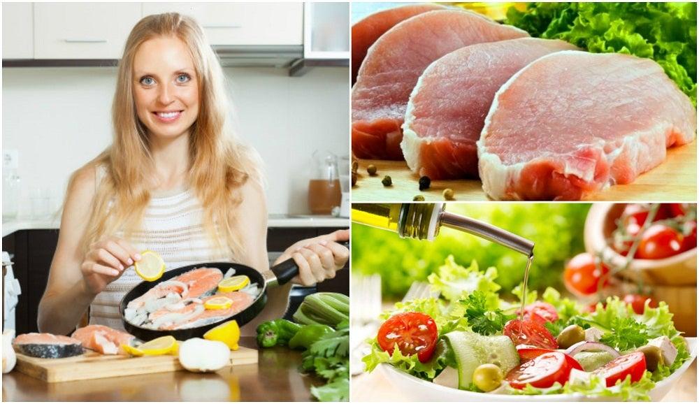 6 consejos para cocinar sano y bajo en grasa