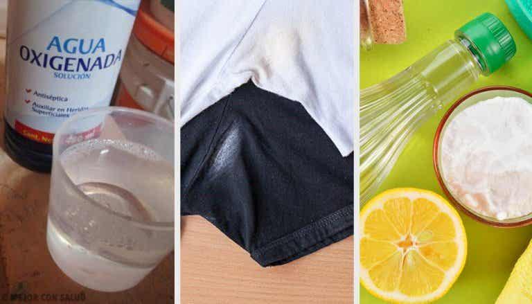 6 formas de eliminar las marcas de desodorante en la ropa