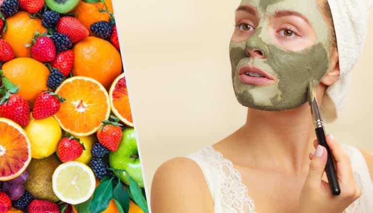 6 mascarillas frutales para relajar tu rostro