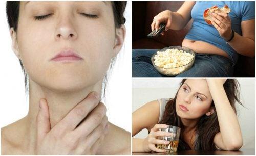 7 cosas que afectan tu salud tiroidea sin que te des cuenta