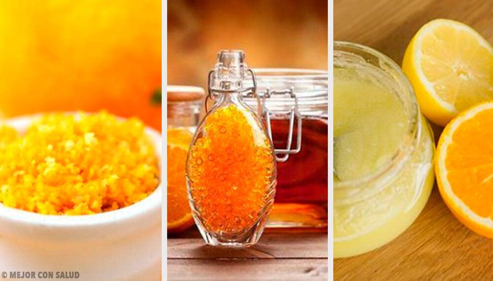 7 exfoliantes de cítricos para combatir la piel seca e impurezas