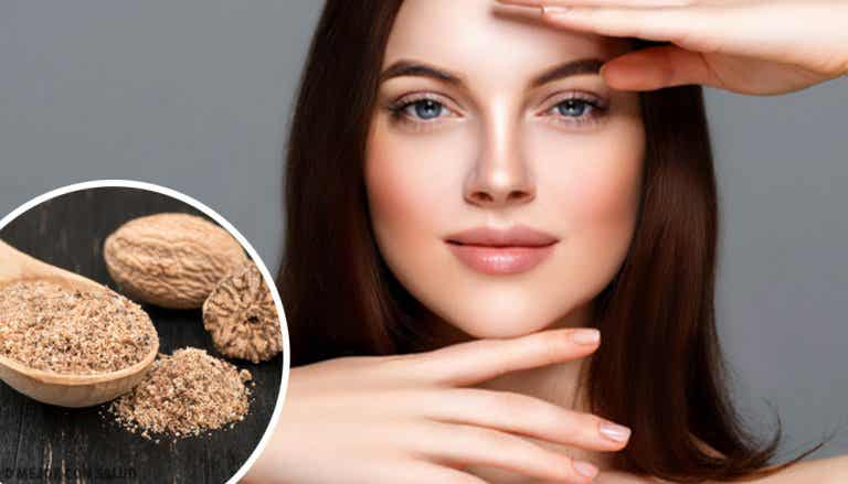 7 mascarillas con nuez moscada para tonificar la piel