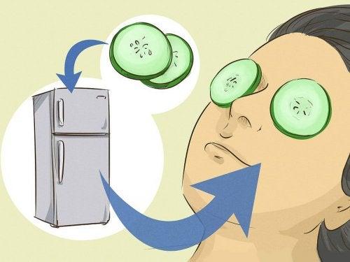 9 mascarillas para relajar los ojos y eliminar las ojeras