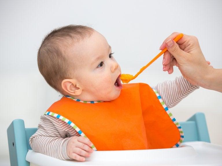 Alimentos comunes que puede tomar el bebé