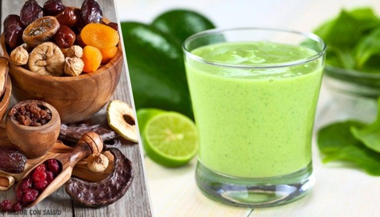 Batidos verdes, una opción saludable en 5 minutos